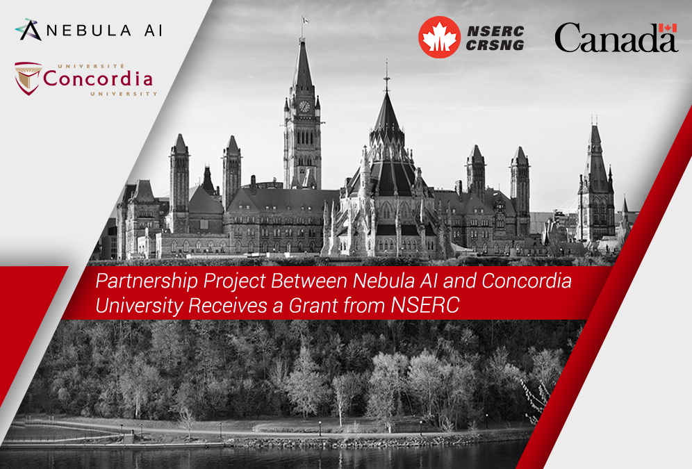 PRESS RELEASE: Nebula AI and Concordia Receive a Grant from NSERC