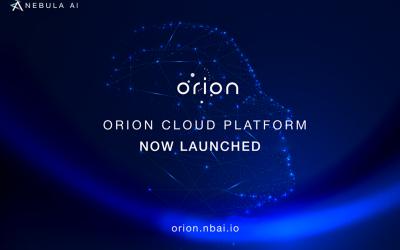 Orion Cloud Platform is Launched