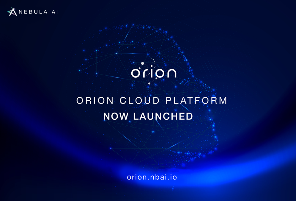 Orion Cloud Platform is Launched