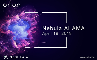 Nebula AI AMA — April 19, 2019